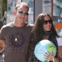 Alanis Morissette And Hubby Shop For Toys In Hollywood