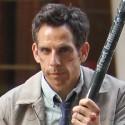 Ben Stiller Shoots Walter Mitty Movie In NYC
