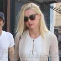 Amber Heard Goes Shopping With A Girlfriend At The Grove