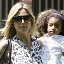Heidi Klum Takes Her Kids To The Park For Family Fun In The Sun