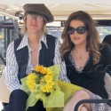 Lisa Marie Presley Does Extra Interview At The Grove