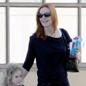 Marcia Cross Runs Errands With Daughter In Santa Monica