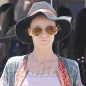 Vanessa Paradis Goes Solo While Johnny Depp Films The Lone Ranger In New Mexico