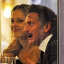 Sean Penn And Petra Nemcova Get Cozy At Dinner In Cannes
