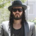 Russell Brand Wears All Black In LA