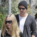 Amanda Seyfried And Josh Hartnett Do Lunch In Venice