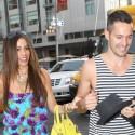 Sophia Vergara Strolls NYC With A Male Friend