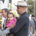 Billy Zane Hangs With Daughter Eva In Venice