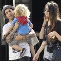 Pete Wentz Takes His Son And Girlfriend Meagan Camper To Breakfast
