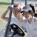 One Direction Band Members Golf In San Diego