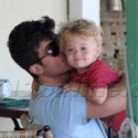 Robin Thicke Spends Quality Time With His Son