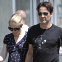 Stephen Moyer And Pregnant Anna Paquin Do Lunch