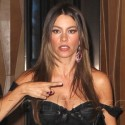 Sofia Vergara Looks Lovely In All Black At NYC Hotel