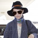 Vanessa Paradis Arrives At The Airport