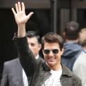 Tom Cruise Films <em>Oblivion</em> At The Empire State Building