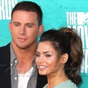 Channing Tatum And Wife Take Red Carpet At MTV Movie Awards