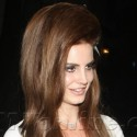 Lana Del Rey Hits Up Chateau Marmont After Her Concert At The El Ray