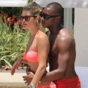 Doutzen Kroes Vacations With Hubby And Son