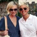 Ellen And Portia Pose In Portofino