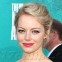 Emma Stone Dons Black And White For MTV Movie Awards