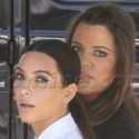The Kardashians Shoot At The Hollywood Forever Cemetery