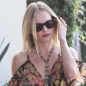 Kate Bosworth Slips Into Summer Style With A Sexy Floral Topshop Dress