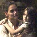 Katie Holmes Takes Suri To See <em>Brave</em>