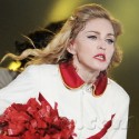 Madonna Performs As A Majorette On MDNA Tour