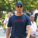 Matthew McConaughey Signs An Autograph For A Fan In NYC