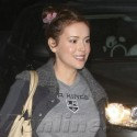 Alyssa Milano Shows Her Support For The LA Kings
