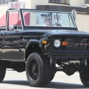 Simon Cowell Takes His Vintage Bronco For A Spin
