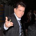 Charlie Sheen Promotes <em>Anger Management</em> In Hollywood