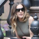 Sarah Jessica Parker Hangs With A Friend In NYC