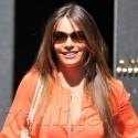 Sofia Vergara Goes Shopping In Milan