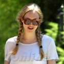 Amanda Seyfried Works Out Then Grabs Lunch With A Friend