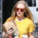 Amanda Seyfried Grabs Coffee In Hollywood