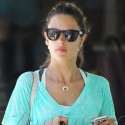 Alessandra Ambrosio Goes Grocery Shopping