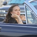 Natale Portman And Christian Bale Film King Of Cups In Los Feliz