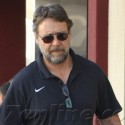 Russell Crowe Takes His Wife Shopping In Beverly Hills