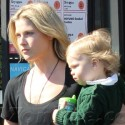 Ali Larter And Son Teddy Hit The Grocery Store