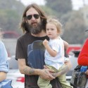 Chris Robinson Hangs Out With Son Ryder