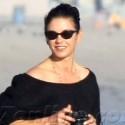Catherine Zeta-Jones Takes Pictures On The Beach