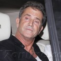Mel Gibson Parties In Hollywood