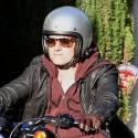 Josh Hutcherson Cruises Around Town On His Hog
