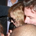 Madonna Leaves l'Arc Paris Club After Her Show