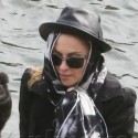 Madonna Bonds With Her Kids On A Boat