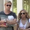 Chris Hemsworth And Elsa Pataky Take Daughter India Rose On Her First Shopping Spree