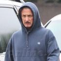 Sean Penn Looks Spent As He Leaves The Gym