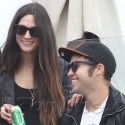 Pete Wentz And Ladylove Meagan Camper Celebrate Independence Day