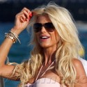 Victoria Silvstedt Busts Out In St. Tropez